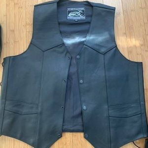 Other - Unisex Leather riding vest
